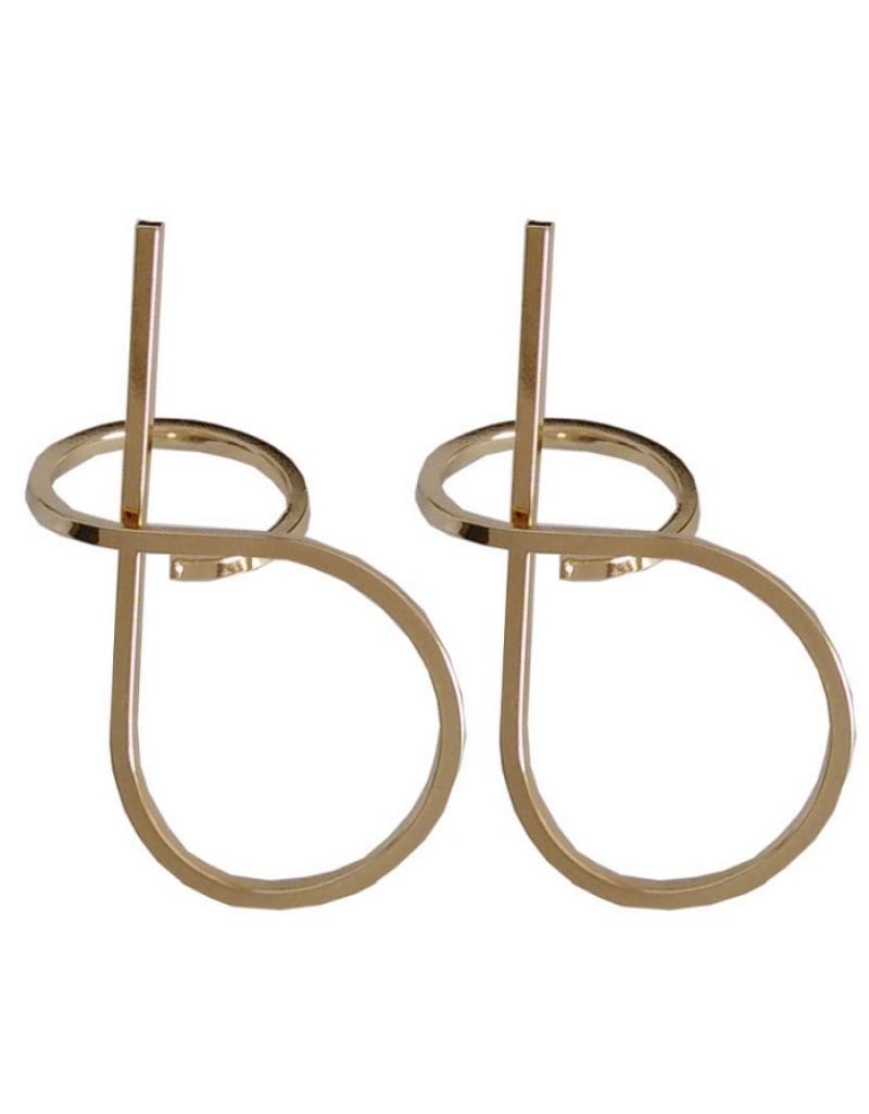 BOOD Gold Earrings