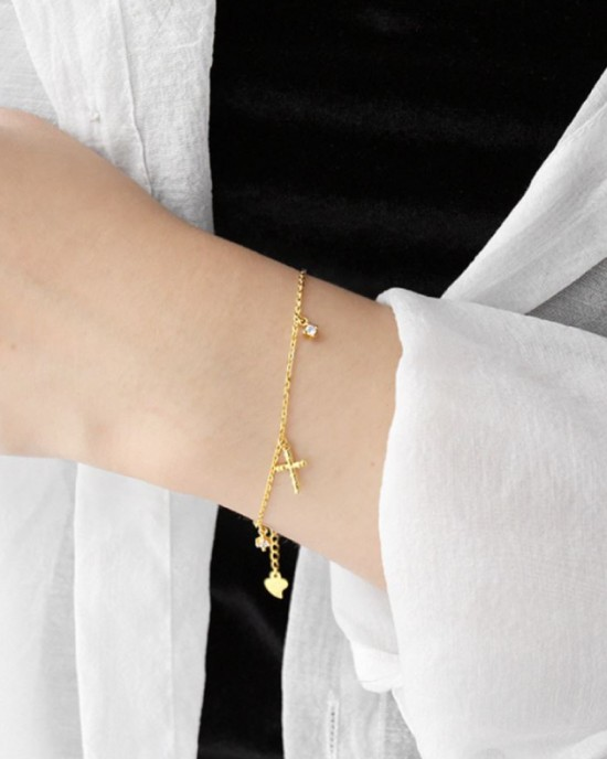 FAITH Gold Bracelet