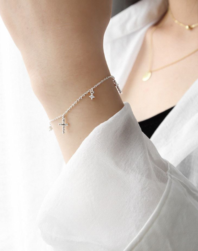 FAITH Silver Bracelet