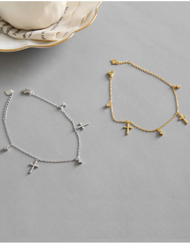 FAITH Gold Bracelet