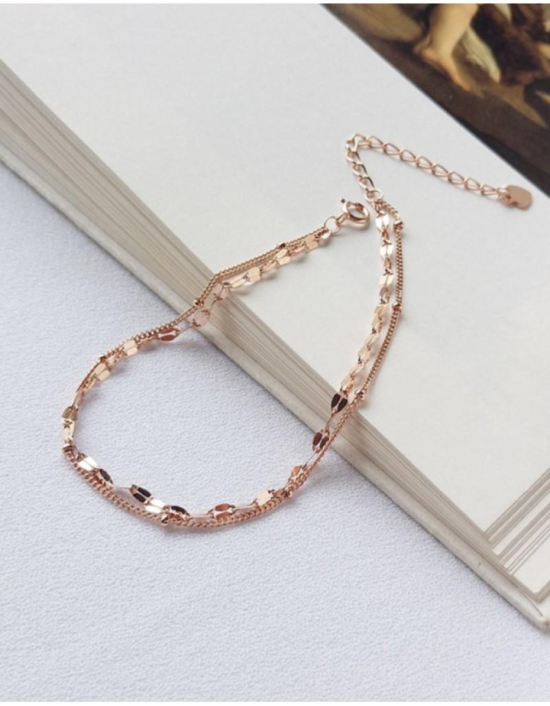 GEMINA Double Chain Bracelet