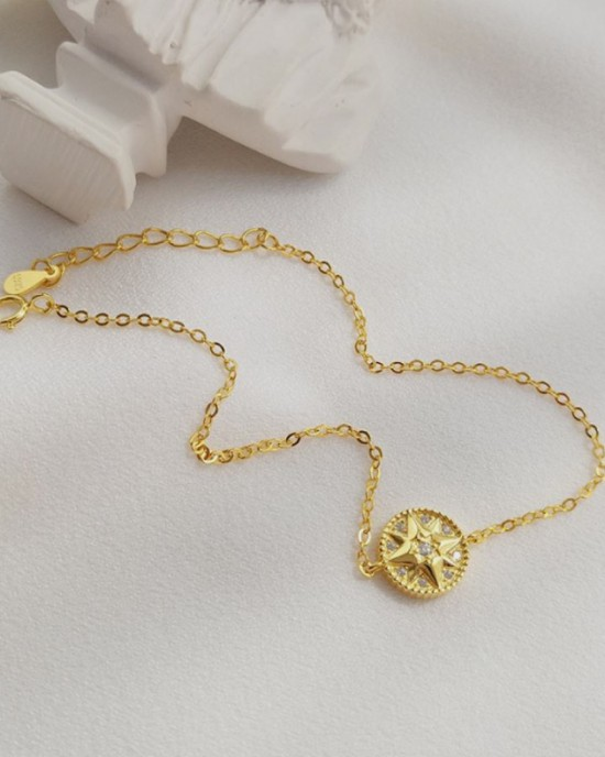 HOPE Gold Vermeil Bracelet