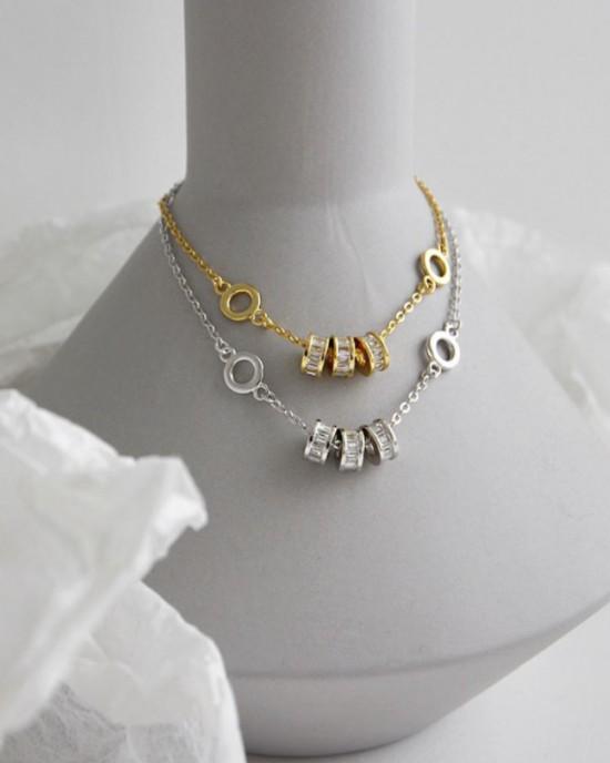 LUCKY Silver Bracelet