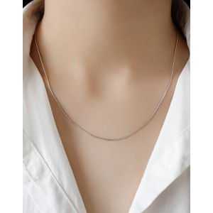 SNAKE CHAIN Sterling Silver Necklace