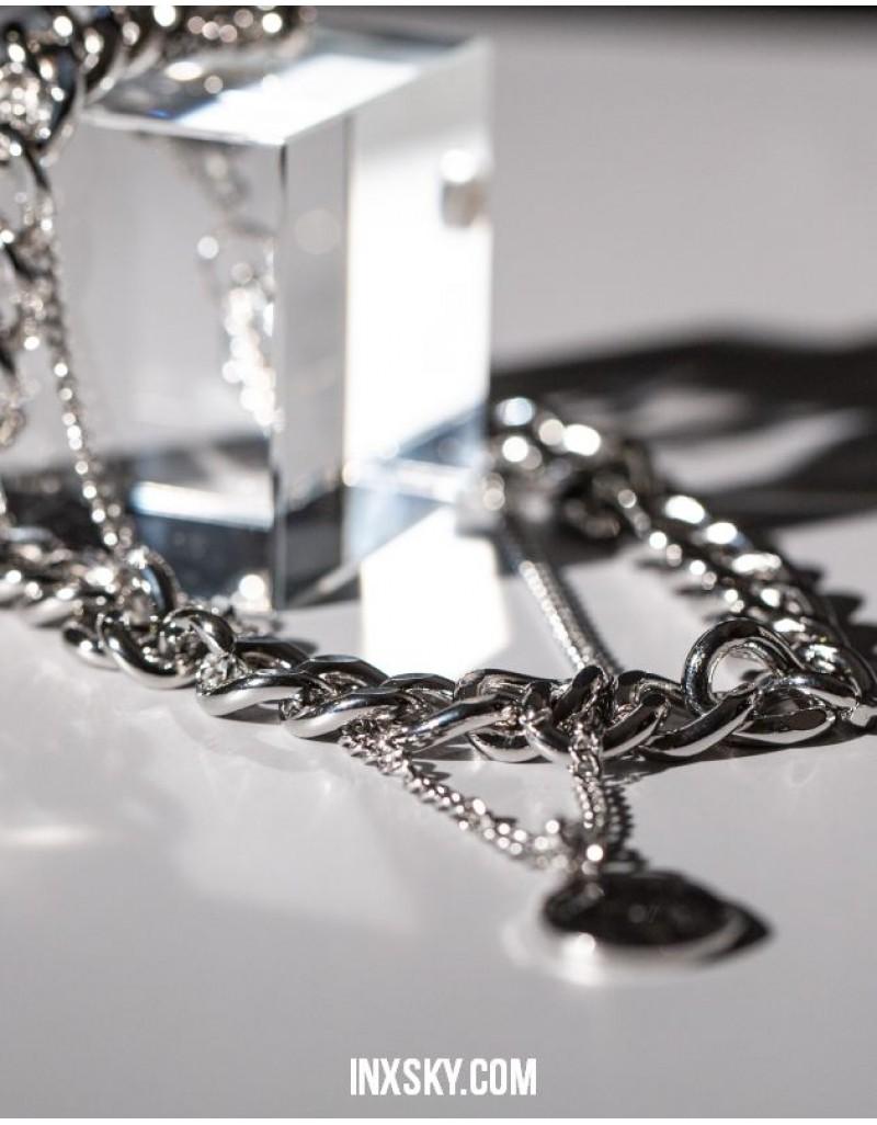 AMOUR DE PARIS Coin Chain Choker