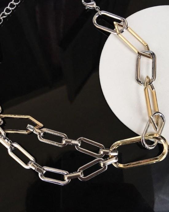 FAYE Bicolor Chain Choker