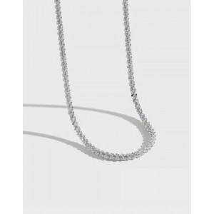GABRIELLA Sterling Silver Chain Choker