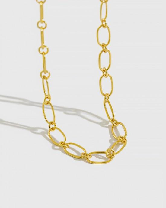 GARANCE Gold Vermeil Link Choker