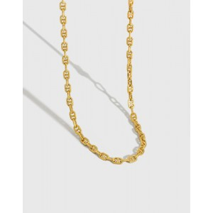 HARLOW Gold Vermeil Anchor Chain