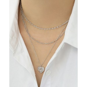 HARLOW Sterling Silver Anchor Chain