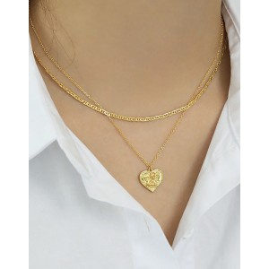 MARLENE Gold Vermeil Anchor Chain