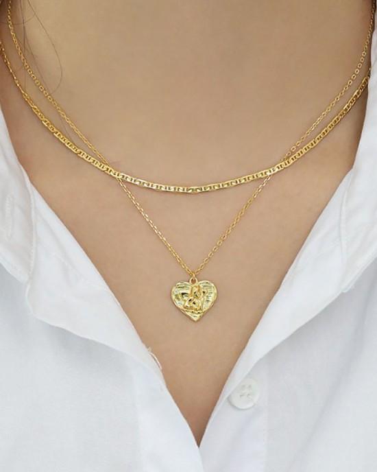 MARLENE Gold Vermeil Anchor Chain