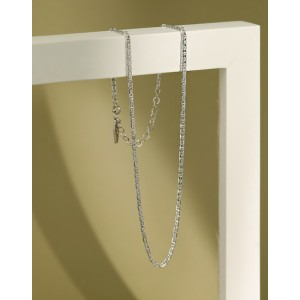 MARLENE Sterling Silver Anchor Chain