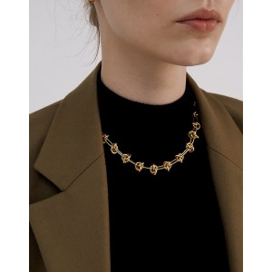 NATACHA Gold Chain Choker