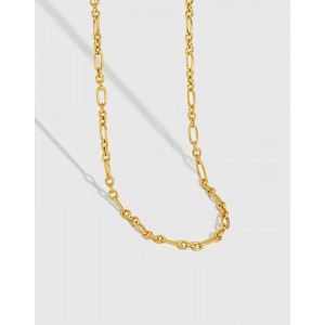 PRISCILLA Gold Vermeil Link Chain