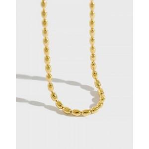SABRINA Gold Vermeil Bead Chain