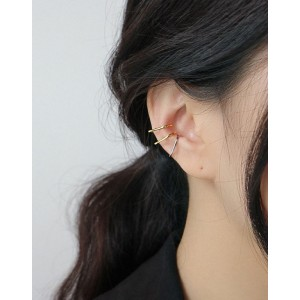AISHA Gold Vermeil Ear Cuffs