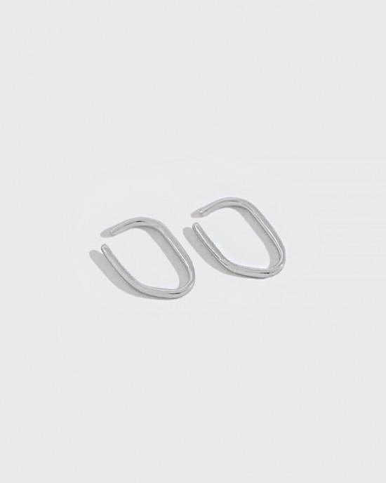 AISHA Sterling Silver Ear Cuffs