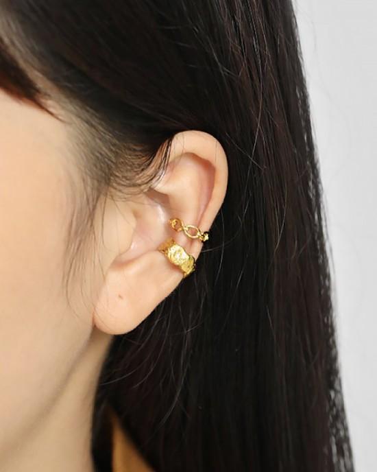 KAREN Gold Vermeil Ear Cuff