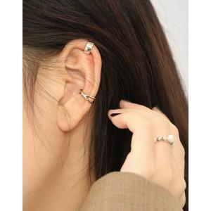 ELORA Sterling Silver Ear Cuff