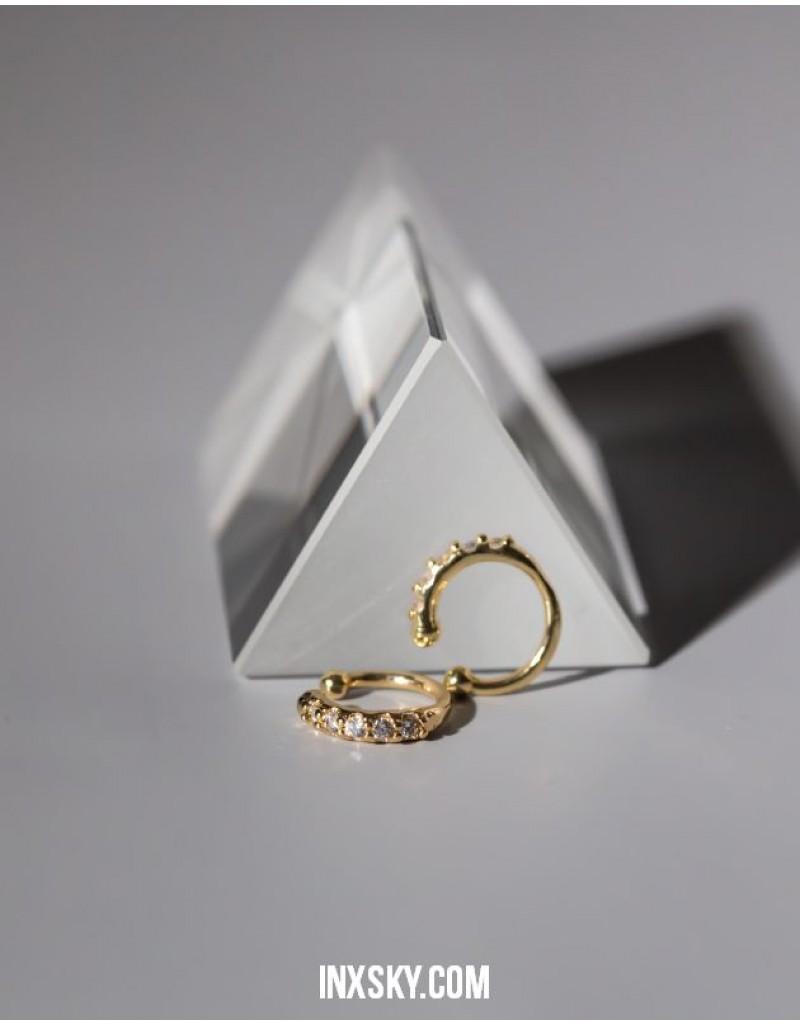 ETTA Cubic Zirconia Ear Cuffs