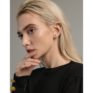 EVA Gold Ear Cuff