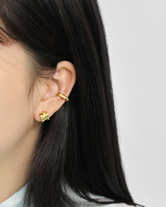 JENNA Gold Vermeil Ear Cuff