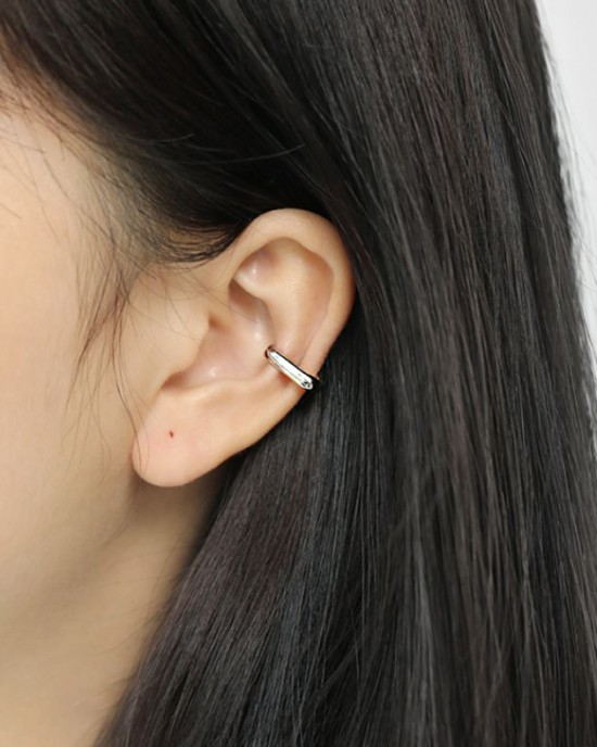JENNA Sterling Silver Ear Cuff