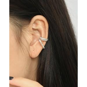 KAMILA Sterling Silver Ear Cuff