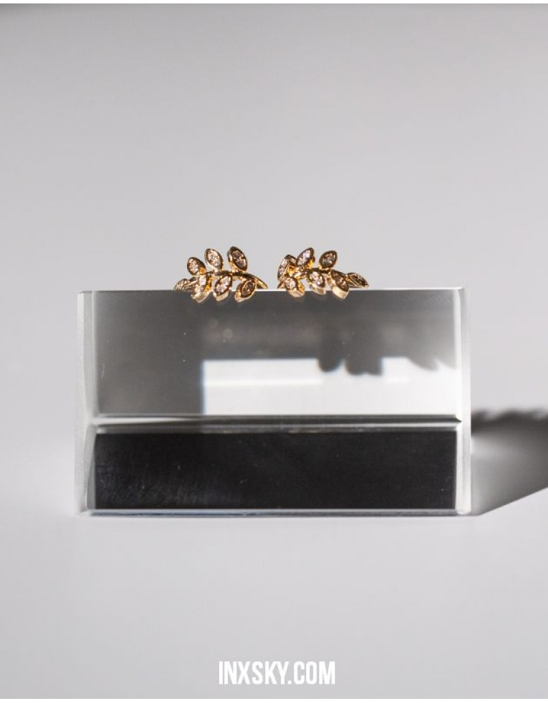 LAUREL Cubic Zirconia Ear Cuffs