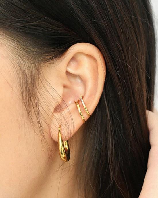 LOUISE Gold Vermeil Ear Cuff