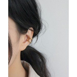 LUCIE Gold Vermeil Double Ear Cuff