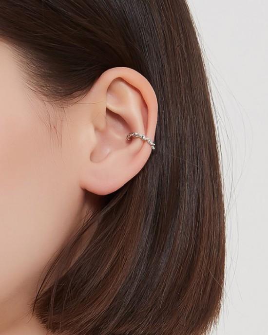 MAE Sterling Silver Ear Cuff