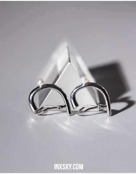 Maggie Clip-On Suspender Ear Cuff