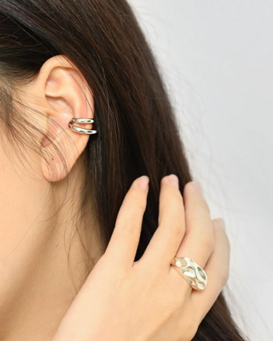 MAGGIE Sterling Silver Ear Cuff