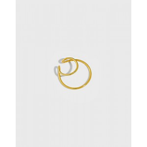 MAISIE Gold Vermeil Double Ear Cuff