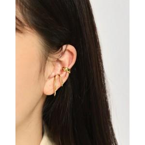 MAISIE Gold Vermeil Double Ear Cuff