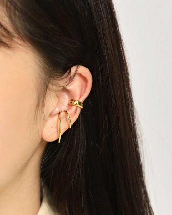 MAISIE Gold Double Ear Cuff