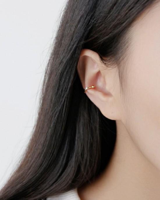MALIA Gold Vermeil Ear Cuff
