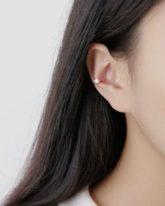 MALIA Sterling Silver Ear Cuff