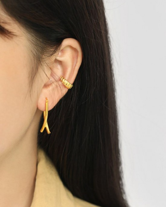 MARINA Gold Vermeil Ear Cuff