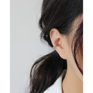 MAE Sterling Silver Ear Cuff
