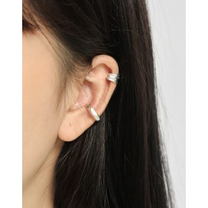 PIA Sterling Silver Ear Cuff