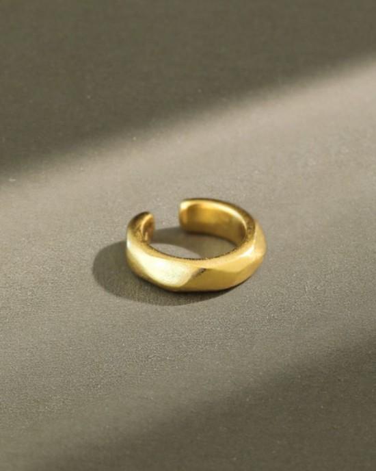 RUTH Gold Vermeil Ear Cuff