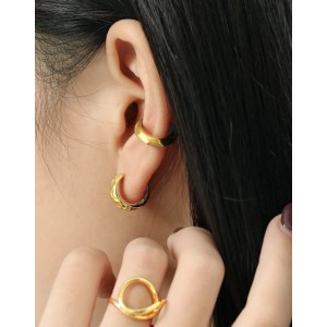 RUTH Gold Vermeil Ear Cuff
