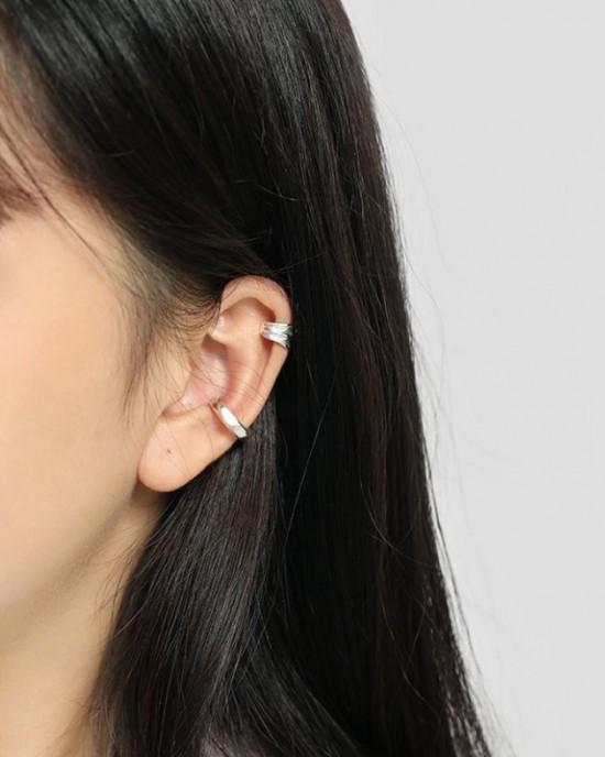 RUTH Sterling Silver Ear Cuff
