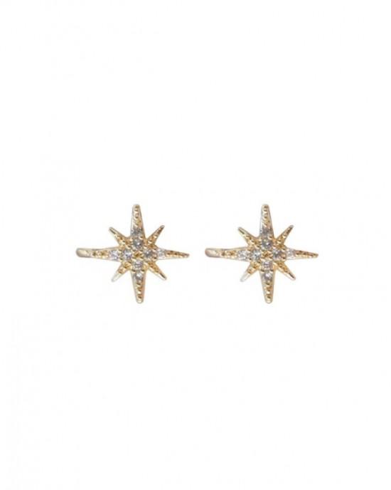 STELLA Cubic Zirconia Star Ear Cuffs