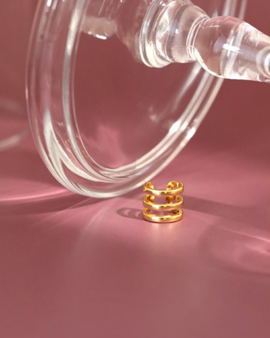 TALIA Gold Vermeil Ear Cuff