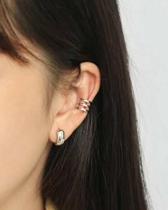 TALIA Sterling Silver Ear Cuff