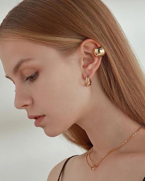 VICKIE Gold Ear Cuff | Big Size